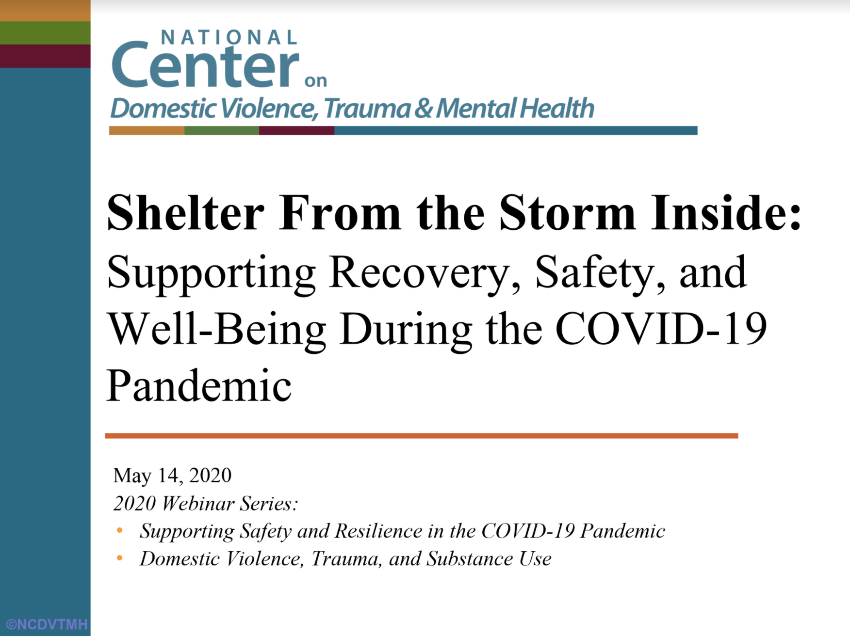 Coercion Related to Mental Health and Substance Use in the Context of Intimate Partner Violence: A Toolkit for Screening, Assessment, and Brief Counseling in Primary Care and Behavioral Health Settings